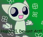 happy 21 DA!