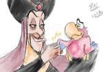 Jafar and Iago - Fist Bump