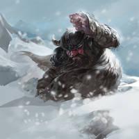 dwarf sketch by dron111