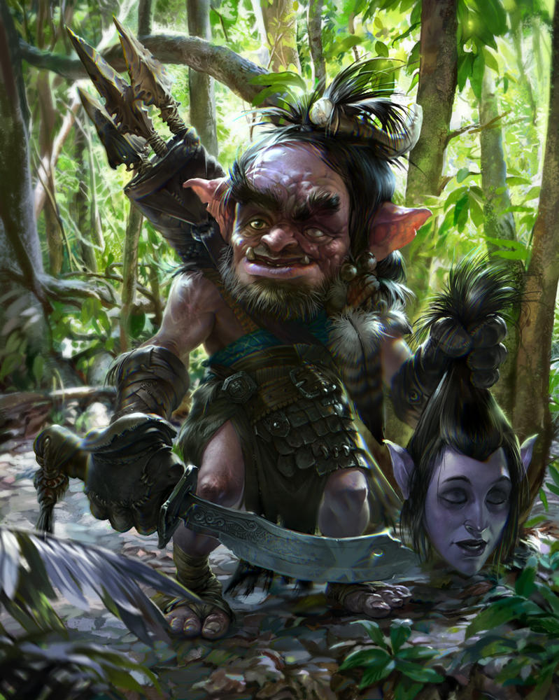 Elf goblin softcore picture