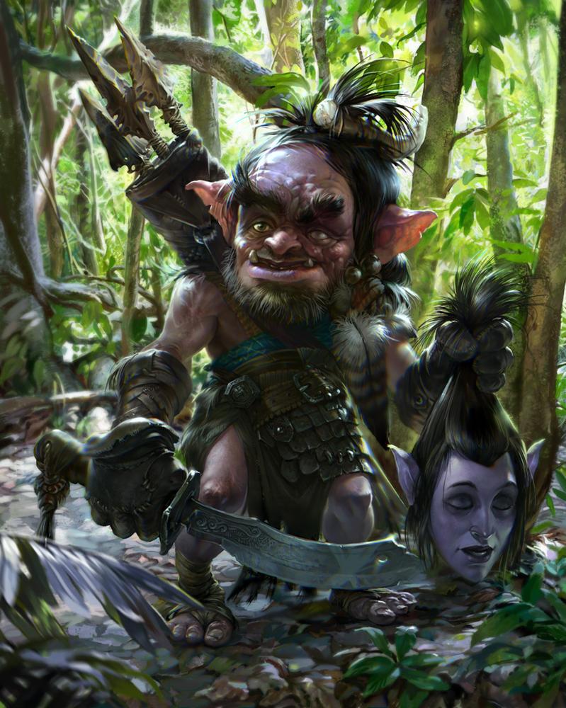 old evil goblin by dron111 on deviantart