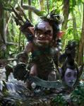 old evil goblin