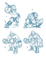 troll sketches by dron111