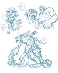 troll sketches2