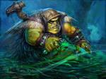 Swamp Troll to the game Berserker