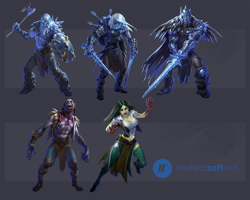Characters for the game2 by dron111