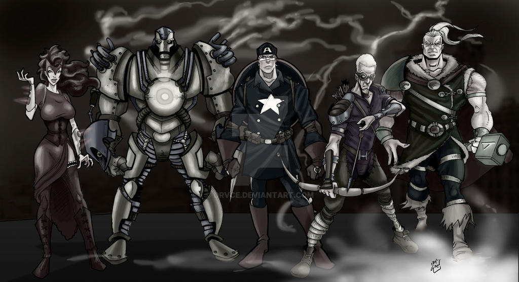 Steam Punk Avengers