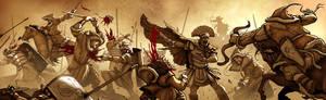 Romans vs Huns: FIGHT!