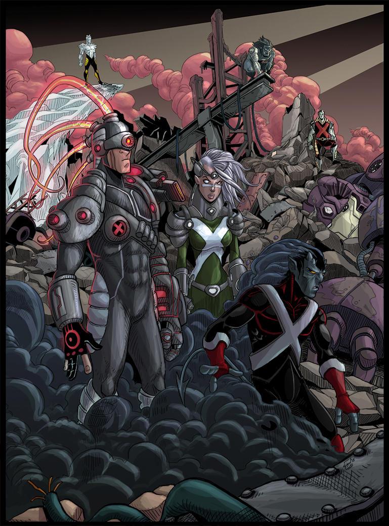 X-Men NEXT by drvce