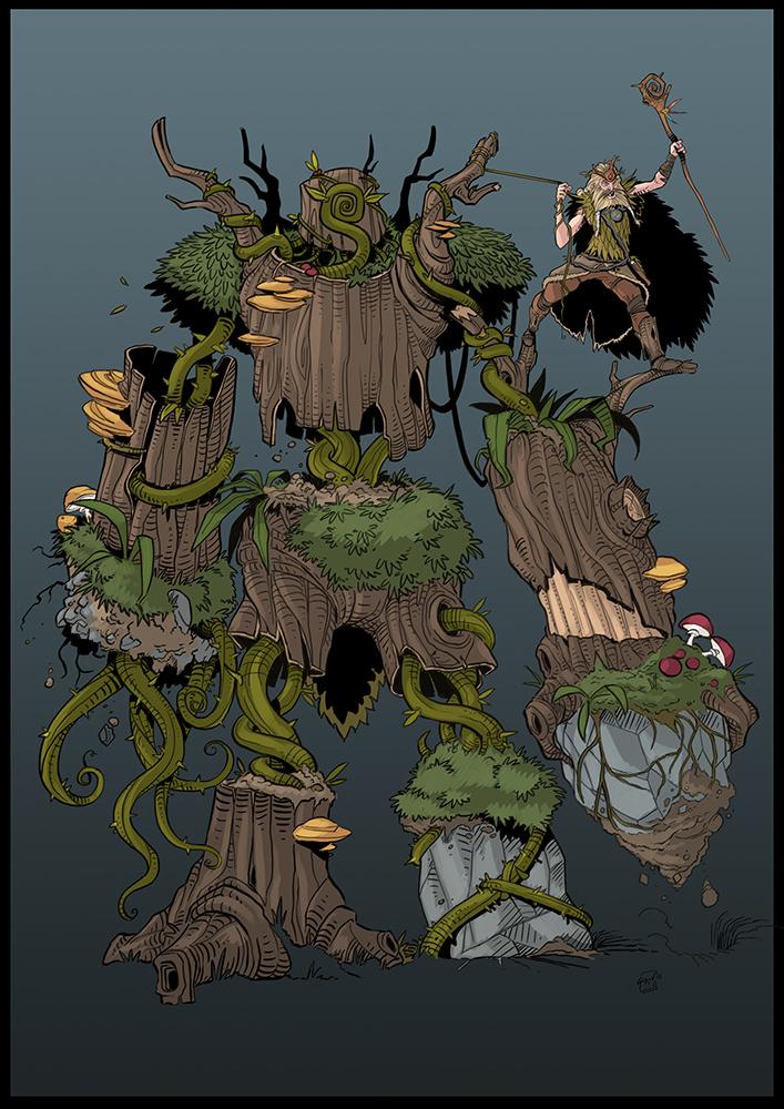 Wood Golem by drvce