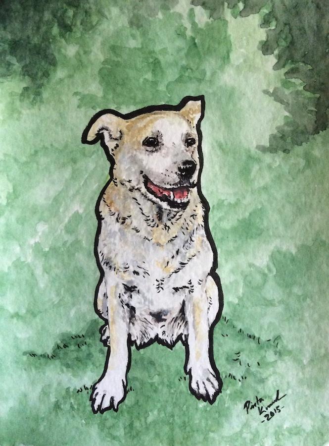 Matthews dog by Pirata1987
