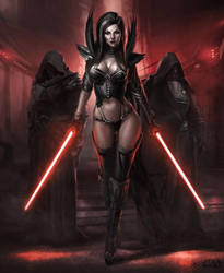 Darth Hydra - The Nightsister Nether-Sith Lord by ChaosEmperor971