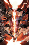 Superman and WW vs Ursla and General Zod