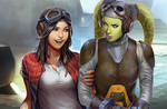 Doctor Aphra and Hera Syndulla