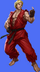 Ken Masters - The Raging Dragon 38 by ChaosEmperor971