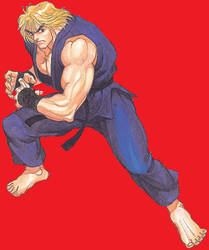 Ken Masters - The Raging Dragon 42 by ChaosEmperor971
