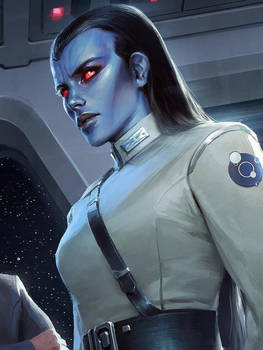 Admiral Arlani (Chiss Ascendency)