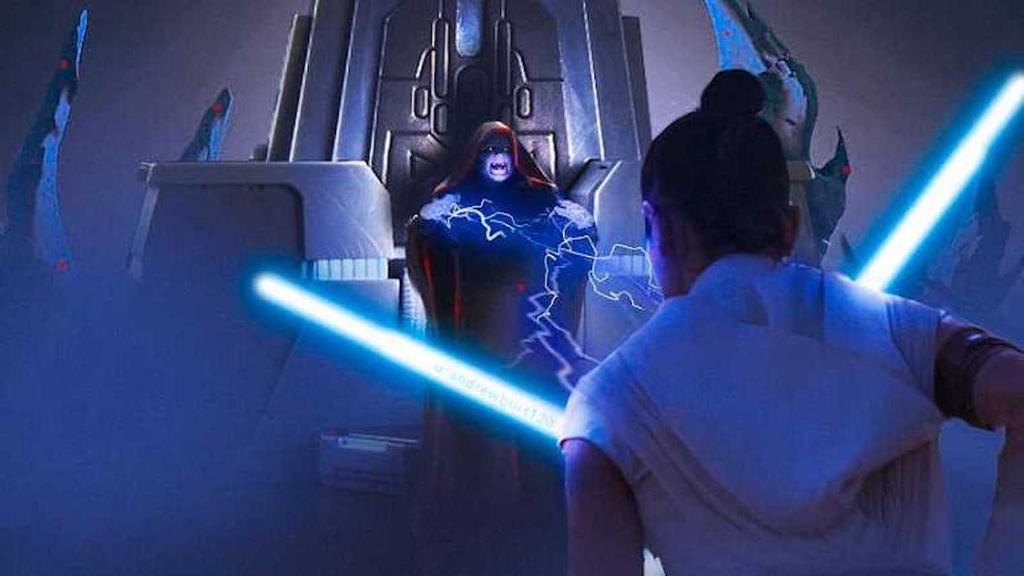 Darth Sidious Vs Rey The Final Confrontation By Chaosemperor971 On Deviantart