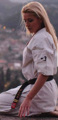 Lucille Fisher  - The Golden Tigress of Karate