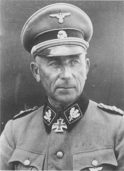 General Paul Hausser - Waffen SS Founder