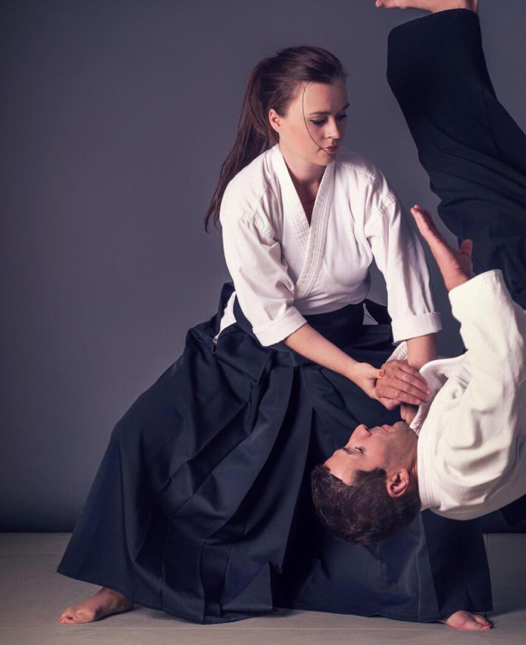 Erika Radarov - Aikido Master