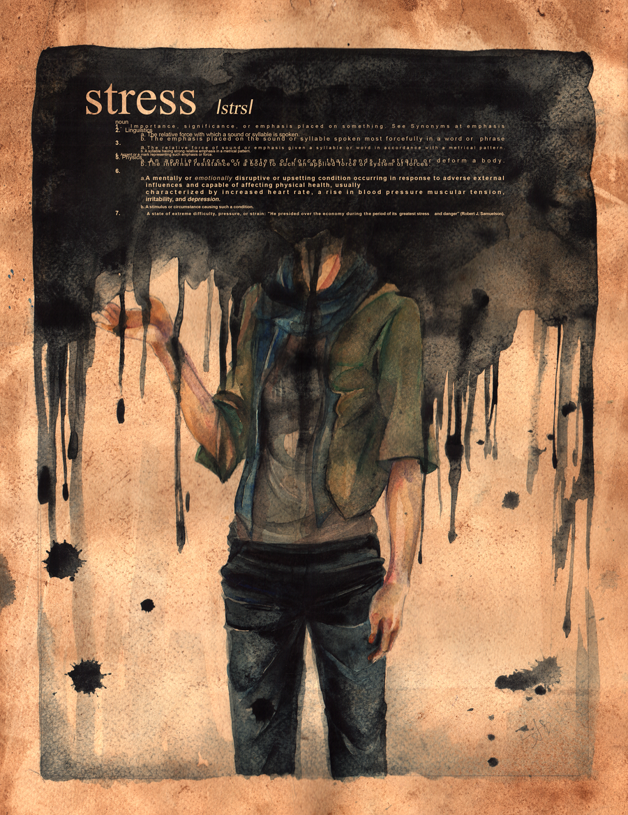 stress by namirenn