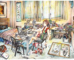 summer like an artist by namirenn