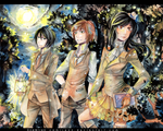 commission - SteampunkTrio by namirenn