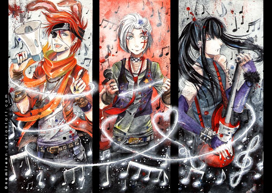 DGM music by namirenn