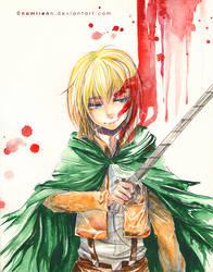 Bloody Armin by namirenn