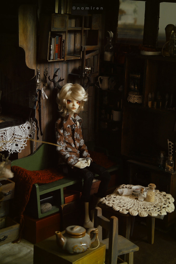 Alex at home by namirenn