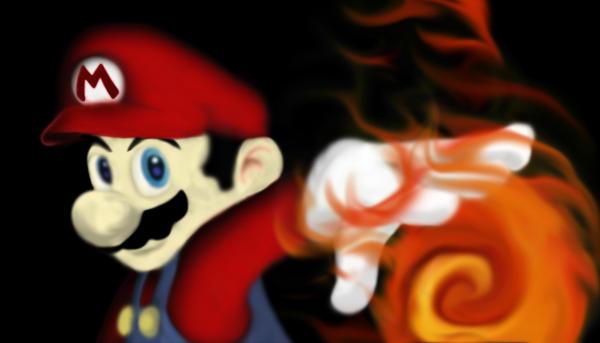 Fireball Mario Mario fireball by sgartist