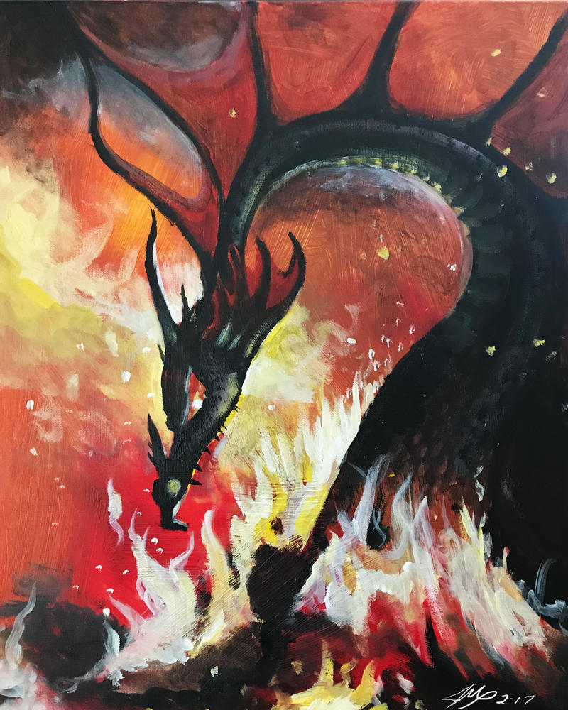 Fire Dragon by Jaymooers
