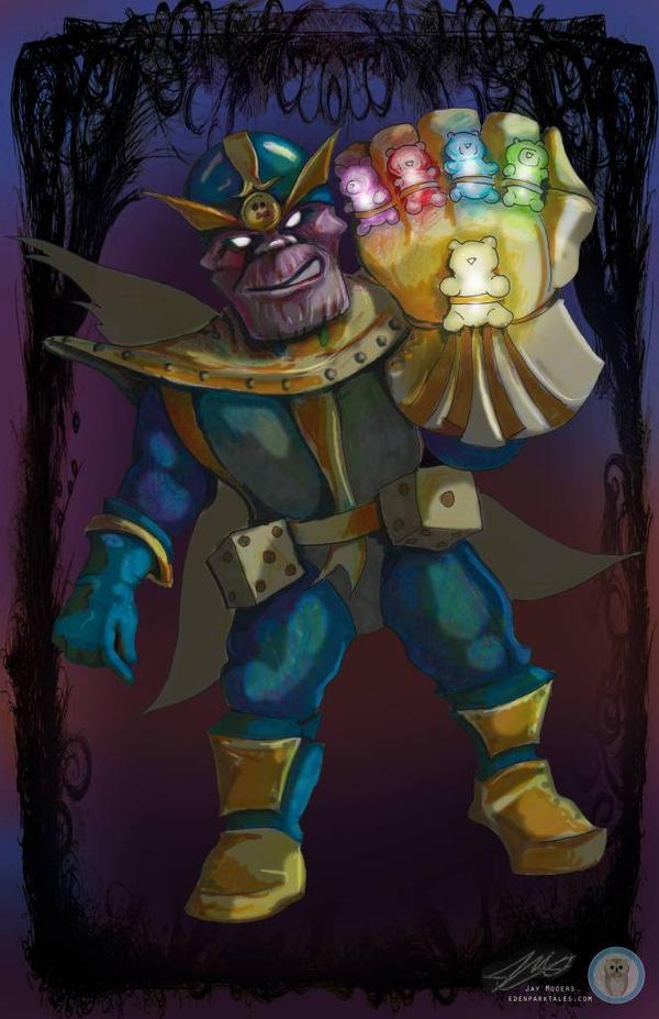 Thanos Conart by Jaymooers