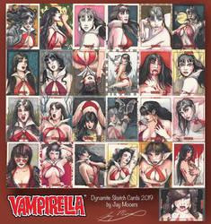 Vampirella sketch cards
