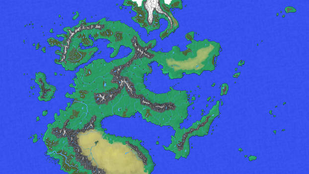Continental Map ver. 1