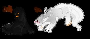 Plasmaphes/Playful Werewolf,Shy Ghost/ending soon!