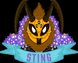 Symmetry Badge - Sting!
