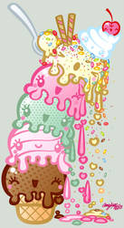 ice cream fun by analage