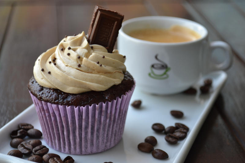 Mochaccino Cupcakes by *analage