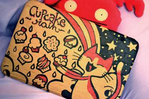 Cardboard and Sharpie