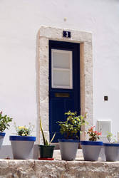 La porte bleue by Filandrune