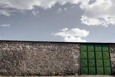 La porte verte by Filandrune