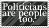 Politician Stamp by JoyWillCome