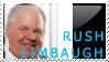 Rush Limbaugh Stamp by JoyWillCome