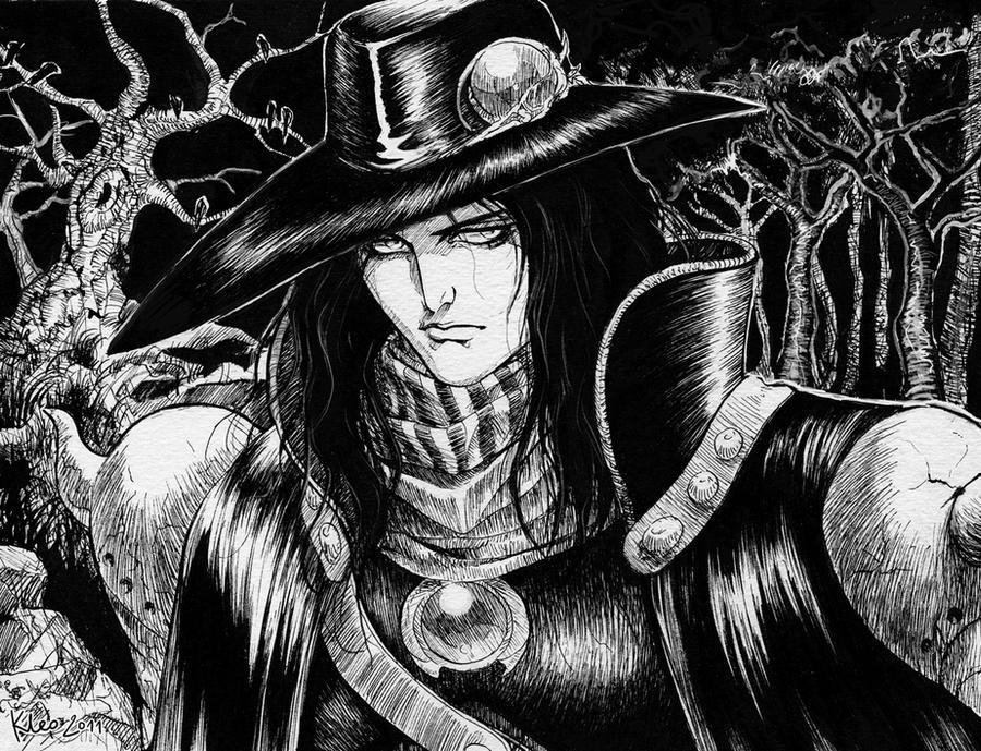 Vampire Hunter D by Anchefanamon