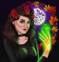 Halloween by Anchefanamon