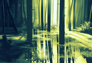 Swamp by Anchefanamon