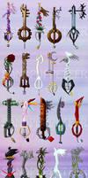 Too Many Keyblades