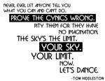 Prove The Cynics Wrong